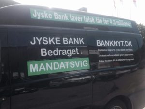 BEDRAGERI  Fraud in the Danish banks by by Jyske Bank management  #Bank #AnderChristianDam    #Gangcrimes #Crimes #Stock #Recommendations #Rental #Property #Lejebolig  #Journalist #Press  -   When the Danish banks deceive their customers   a case of fraud in Danish banks against customers    :-(  :-(    When the #Danish #Banks as #jyskebank are making fraud   And the gang leader, Anders Dam controls the bank's fraud.   :-(    Anders Dam Bank's CEO refuses to quit fraud against customers  -  So it only shows how criminal the Danish jyske bank is.   :-)   Do not trust the #JyskeBank  they are #Lying constantly,   when the bank cheats you    The fraud that is #organized through by 3 departments,  and many members of the organization JYSKE BANK    :-(    The Danish bank jyske bank is a criminal business Follow the case in Danish law BS 99-698/2015    :-) :-)   - Thanks to all of you we meet on the road.    Which gives us your full support to the fight against the Danish fraud bank.   JYSKE BANK    :-)  :-)  Please ask the bank, jyske bank if we have raised a loan of DKK 4.328.000   In Danish bank nykredit.  as the Jyske bank writes to their customer, who is ill after a brain bleeding    -    As the bank is facing Danish courts and claim is a loan behind the interest rate swap  The swsp   Jyske Bank itself made 16-07-2008    #Financial #News #Press #Share #Pol #Recommendation #Sale #Firesale #AndersDam #JyskeBank #ATP #PFA #MortenUlrikGade #PhilipBaruch#LES #GF #BirgitBushThuesen #LundElmerSandager #Nykredit #MetteEgholmNielsen #Loan #Fraud #CasperDamOlsen #NicolaiHansen#SørenWoergaard #AnetteKirkeby  #Koncernledelse #Jyskebank  #Koncernbestyrelsen #SvenBuhrkall #KurtBligaardPedersen #RinaAsmussen #PhilipBaruch #JensABorup #KeldNorup #ChristinaLykkeMunk #HaggaiKunisch #MarianneLillevang #Koncerndirektionen #AndersDam #LeifFLarsen #NielsErikJakobsen #PerSkovhus #PeterSchleidt   -IMG_0762