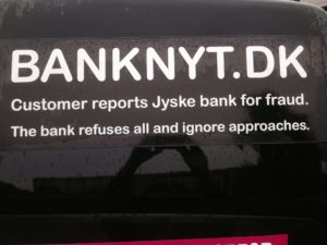 BEDRAGERI Fraud in the Danish banks by by Jyske Bank management #Bank #AnderChristianDam #Gangcrimes #Crimes #Stock #Recommendations #Rental #Property #Lejebolig #Journalist #Press - When the Danish banks deceive their customers a case of fraud in Danish banks against customers :-( :-( When the #Danish #Banks as #jyskebank are making fraud And the gang leader, Anders Dam controls the bank's fraud. :-( Anders Dam Bank's CEO refuses to quit fraud against customers - So it only shows how criminal the Danish jyske bank is. :-) Do not trust the #JyskeBank they are #Lying constantly, when the bank cheats you The fraud that is #organized through by 3 departments, and many members of the organization JYSKE BANK :-( The Danish bank jyske bank is a criminal business Follow the case in Danish law BS 99-698/2015 :-) :-) - Thanks to all of you we meet on the road. Which gives us your full support to the fight against the Danish fraud bank. JYSKE BANK :-) :-) Please ask the bank, jyske bank if we have raised a loan of DKK 4.328.000 In Danish bank nykredit. as the Jyske bank writes to their customer, who is ill after a brain bleeding - As the bank is facing Danish courts and claim is a loan behind the interest rate swap The swsp Jyske Bank itself made 16-07-2008 #Financial #News #Press #Share #Pol #Recommendation #Sale #Firesale #AndersDam #JyskeBank #ATP #PFA #MortenUlrikGade #PhilipBaruch#LES #GF #BirgitBushThuesen #LundElmerSandager #Nykredit #MetteEgholmNielsen #Loan #Fraud #CasperDamOlsen #NicolaiHansen#SørenWoergaard #AnetteKirkeby #Koncernledelse #Jyskebank #Koncernbestyrelsen #SvenBuhrkall #KurtBligaardPedersen #RinaAsmussen #PhilipBaruch #JensABorup #KeldNorup #ChristinaLykkeMunk #HaggaiKunisch #MarianneLillevang #Koncerndirektionen #AndersDam #LeifFLarsen #NielsErikJakobsen #PerSkovhus #PeterSchleidt -IMG_1009