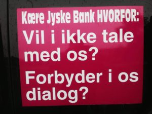 BEDRAGERI Fraud in the Danish banks by by Jyske Bank management #Bank #AnderChristianDam #Gangcrimes #Crimes #Stock #Recommendations #Rental #Property #Lejebolig #Journalist #Press - When the Danish banks deceive their customers a case of fraud in Danish banks against customers :-( :-( When the #Danish #Banks as #jyskebank are making fraud And the gang leader, Anders Dam controls the bank's fraud. :-( Anders Dam Bank's CEO refuses to quit fraud against customers - So it only shows how criminal the Danish jyske bank is. :-) Do not trust the #JyskeBank they are #Lying constantly, when the bank cheats you The fraud that is #organized through by 3 departments, and many members of the organization JYSKE BANK :-( The Danish bank jyske bank is a criminal business Follow the case in Danish law BS 99-698/2015 :-) :-) - Thanks to all of you we meet on the road. Which gives us your full support to the fight against the Danish fraud bank. JYSKE BANK :-) :-) Please ask the bank, jyske bank if we have raised a loan of DKK 4.328.000 In Danish bank nykredit. as the Jyske bank writes to their customer, who is ill after a brain bleeding - As the bank is facing Danish courts and claim is a loan behind the interest rate swap The swsp Jyske Bank itself made 16-07-2008 #Financial #News #Press #Share #Pol #Recommendation #Sale #Firesale #AndersDam #JyskeBank #ATP #PFA #MortenUlrikGade #PhilipBaruch#LES #GF #BirgitBushThuesen #LundElmerSandager #Nykredit #MetteEgholmNielsen #Loan #Fraud #CasperDamOlsen #NicolaiHansen#SørenWoergaard #AnetteKirkeby #Koncernledelse #Jyskebank #Koncernbestyrelsen #SvenBuhrkall #KurtBligaardPedersen #RinaAsmussen #PhilipBaruch #JensABorup #KeldNorup #ChristinaLykkeMunk #HaggaiKunisch #MarianneLillevang #Koncerndirektionen #AndersDam #LeifFLarsen #NielsErikJakobsen #PerSkovhus #PeterSchleidt -IMG_1012