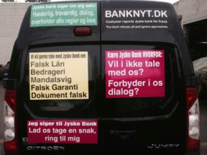 BEDRAGERI Fraud in the Danish banks by by Jyske Bank management #Bank #AnderChristianDam #Gangcrimes #Crimes #Stock #Recommendations #Rental #Property #Lejebolig #Journalist #Press - When the Danish banks deceive their customers a case of fraud in Danish banks against customers :-( :-( When the #Danish #Banks as #jyskebank are making fraud And the gang leader, Anders Dam controls the bank's fraud. :-( Anders Dam Bank's CEO refuses to quit fraud against customers - So it only shows how criminal the Danish jyske bank is. :-) Do not trust the #JyskeBank they are #Lying constantly, when the bank cheats you The fraud that is #organized through by 3 departments, and many members of the organization JYSKE BANK :-( The Danish bank jyske bank is a criminal business Follow the case in Danish law BS 99-698/2015 :-) :-) - Thanks to all of you we meet on the road. Which gives us your full support to the fight against the Danish fraud bank. JYSKE BANK :-) :-) Please ask the bank, jyske bank if we have raised a loan of DKK 4.328.000 In Danish bank nykredit. as the Jyske bank writes to their customer, who is ill after a brain bleeding - As the bank is facing Danish courts and claim is a loan behind the interest rate swap The swsp Jyske Bank itself made 16-07-2008 #Financial #News #Press #Share #Pol #Recommendation #Sale #Firesale #AndersDam #JyskeBank #ATP #PFA #MortenUlrikGade #PhilipBaruch#LES #GF #BirgitBushThuesen #LundElmerSandager #Nykredit #MetteEgholmNielsen #Loan #Fraud #CasperDamOlsen #NicolaiHansen#SørenWoergaard #AnetteKirkeby #Koncernledelse #Jyskebank #Koncernbestyrelsen #SvenBuhrkall #KurtBligaardPedersen #RinaAsmussen #PhilipBaruch #JensABorup #KeldNorup #ChristinaLykkeMunk #HaggaiKunisch #MarianneLillevang #Koncerndirektionen #AndersDam #LeifFLarsen #NielsErikJakobsen #PerSkovhus #PeterSchleidt -IMG_1014