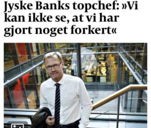 BEDRAGERI Fraud in the Danish banks by by Jyske Bank management #Bank #AnderChristianDam #Gangcrimes #Crimes #Stock #Recommendations #Rental #Property #Lejebolig #Journalist #Press - When the Danish banks deceive their customers a case of fraud in Danish banks against customers :-( :-( When the #Danish #Banks as #jyskebank are making fraud And the gang leader, Anders Dam controls the bank's fraud. :-( Anders Dam Bank's CEO refuses to quit fraud against customers - So it only shows how criminal the Danish jyske bank is. :-) Do not trust the #JyskeBank they are #Lying constantly, when the bank cheats you The fraud that is #organized through by 3 departments, and many members of the organization JYSKE BANK :-( The Danish bank jyske bank is a criminal business Follow the case in Danish law BS 99-698/2015 :-) :-) - Thanks to all of you we meet on the road. Which gives us your full support to the fight against the Danish fraud bank. JYSKE BANK :-) :-) Please ask the bank, jyske bank if we have raised a loan of DKK 4.328.000 In Danish bank nykredit. as the Jyske bank writes to their customer, who is ill after a brain bleeding - As the bank is facing Danish courts and claim is a loan behind the interest rate swap The swsp Jyske Bank itself made 16-07-2008 #Financial #News #Press #Share #Pol #Recommendation #Sale #Firesale #AndersDam #JyskeBank #ATP #PFA #MortenUlrikGade #PhilipBaruch#LES #GF #BirgitBushThuesen #LundElmerSandager #Nykredit #MetteEgholmNielsen #Loan #Fraud #CasperDamOlsen #NicolaiHansen#SørenWoergaard #AnetteKirkeby #Koncernledelse #Jyskebank #Koncernbestyrelsen #SvenBuhrkall #KurtBligaardPedersen #RinaAsmussen #PhilipBaruch #JensABorup #KeldNorup #ChristinaLykkeMunk #HaggaiKunisch #MarianneLillevang #Koncerndirektionen #AndersDam #LeifFLarsen #NielsErikJakobsen #PerSkovhus #PeterSchleidt -IMG_1018