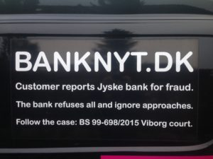BEDRAGERI Fraud in the Danish banks by by Jyske Bank management #Bank #AnderChristianDam #Gangcrimes #Crimes #Stock #Recommendations #Rental #Property #Lejebolig #Journalist #Press - When the Danish banks deceive their customers a case of fraud in Danish banks against customers :-( :-( When the #Danish #Banks as #jyskebank are making fraud And the gang leader, Anders Dam controls the bank's fraud. :-( Anders Dam Bank's CEO refuses to quit fraud against customers - So it only shows how criminal the Danish jyske bank is. :-) Do not trust the #JyskeBank they are #Lying constantly, when the bank cheats you The fraud that is #organized through by 3 departments, and many members of the organization JYSKE BANK :-( The Danish bank jyske bank is a criminal business Follow the case in Danish law BS 99-698/2015 :-) :-) - Thanks to all of you we meet on the road. Which gives us your full support to the fight against the Danish fraud bank. JYSKE BANK :-) :-) Please ask the bank, jyske bank if we have raised a loan of DKK 4.328.000 In Danish bank nykredit. as the Jyske bank writes to their customer, who is ill after a brain bleeding - As the bank is facing Danish courts and claim is a loan behind the interest rate swap The swsp Jyske Bank itself made 16-07-2008 #Financial #News #Press #Share #Pol #Recommendation #Sale #Firesale #AndersDam #JyskeBank #ATP #PFA #MortenUlrikGade #PhilipBaruch#LES #GF #BirgitBushThuesen #LundElmerSandager #Nykredit #MetteEgholmNielsen #Loan #Fraud #CasperDamOlsen #NicolaiHansen#SørenWoergaard #AnetteKirkeby #Koncernledelse #Jyskebank #Koncernbestyrelsen #SvenBuhrkall #KurtBligaardPedersen #RinaAsmussen #PhilipBaruch #JensABorup #KeldNorup #ChristinaLykkeMunk #HaggaiKunisch #MarianneLillevang #Koncerndirektionen #AndersDam #LeifFLarsen #NielsErikJakobsen #PerSkovhus #PeterSchleidt -IMG_1087