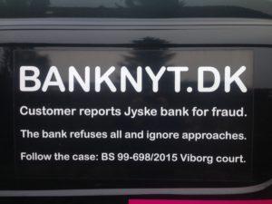 BEDRAGERI Fraud in the Danish banks by by Jyske Bank management #Bank #AnderChristianDam #Gangcrimes #Crimes #Stock #Recommendations #Rental #Property #Lejebolig #Journalist #Press - When the Danish banks deceive their customers a case of fraud in Danish banks against customers :-( :-( When the #Danish #Banks as #jyskebank are making fraud And the gang leader, Anders Dam controls the bank's fraud. :-( Anders Dam Bank's CEO refuses to quit fraud against customers - So it only shows how criminal the Danish jyske bank is. :-) Do not trust the #JyskeBank they are #Lying constantly, when the bank cheats you The fraud that is #organized through by 3 departments, and many members of the organization JYSKE BANK :-( The Danish bank jyske bank is a criminal business Follow the case in Danish law BS 99-698/2015 :-) :-) - Thanks to all of you we meet on the road. Which gives us your full support to the fight against the Danish fraud bank. JYSKE BANK :-) :-) Please ask the bank, jyske bank if we have raised a loan of DKK 4.328.000 In Danish bank nykredit. as the Jyske bank writes to their customer, who is ill after a brain bleeding - As the bank is facing Danish courts and claim is a loan behind the interest rate swap The swsp Jyske Bank itself made 16-07-2008 #Financial #News #Press #Share #Pol #Recommendation #Sale #Firesale #AndersDam #JyskeBank #ATP #PFA #MortenUlrikGade #PhilipBaruch#LES #GF #BirgitBushThuesen #LundElmerSandager #Nykredit #MetteEgholmNielsen #Loan #Fraud #CasperDamOlsen #NicolaiHansen#SørenWoergaard #AnetteKirkeby #Koncernledelse #Jyskebank #Koncernbestyrelsen #SvenBuhrkall #KurtBligaardPedersen #RinaAsmussen #PhilipBaruch #JensABorup #KeldNorup #ChristinaLykkeMunk #HaggaiKunisch #MarianneLillevang #Koncerndirektionen #AndersDam #LeifFLarsen #NielsErikJakobsen #PerSkovhus #PeterSchleidt -IMG_1087