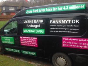 BEDRAGERI Fraud in the Danish banks by by Jyske Bank management #Bank #AnderChristianDam #Gangcrimes #Crimes #Stock #Recommendations #Rental #Property #Lejebolig #Journalist #Press - When the Danish banks deceive their customers a case of fraud in Danish banks against customers :-( :-( When the #Danish #Banks as #jyskebank are making fraud And the gang leader, Anders Dam controls the bank's fraud. :-( Anders Dam Bank's CEO refuses to quit fraud against customers - So it only shows how criminal the Danish jyske bank is. :-) Do not trust the #JyskeBank they are #Lying constantly, when the bank cheats you The fraud that is #organized through by 3 departments, and many members of the organization JYSKE BANK :-( The Danish bank jyske bank is a criminal business Follow the case in Danish law BS 99-698/2015 :-) :-) - Thanks to all of you we meet on the road. Which gives us your full support to the fight against the Danish fraud bank. JYSKE BANK :-) :-) Please ask the bank, jyske bank if we have raised a loan of DKK 4.328.000 In Danish bank nykredit. as the Jyske bank writes to their customer, who is ill after a brain bleeding - As the bank is facing Danish courts and claim is a loan behind the interest rate swap The swsp Jyske Bank itself made 16-07-2008 #Financial #News #Press #Share #Pol #Recommendation #Sale #Firesale #AndersDam #JyskeBank #ATP #PFA #MortenUlrikGade #PhilipBaruch#LES #GF #BirgitBushThuesen #LundElmerSandager #Nykredit #MetteEgholmNielsen #Loan #Fraud #CasperDamOlsen #NicolaiHansen#SørenWoergaard #AnetteKirkeby #Koncernledelse #Jyskebank #Koncernbestyrelsen #SvenBuhrkall #KurtBligaardPedersen #RinaAsmussen #PhilipBaruch #JensABorup #KeldNorup #ChristinaLykkeMunk #HaggaiKunisch #MarianneLillevang #Koncerndirektionen #AndersDam #LeifFLarsen #NielsErikJakobsen #PerSkovhus #PeterSchleidt -IMG_1094