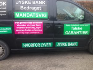 BEDRAGERI Fraud in the Danish banks by by Jyske Bank management #Bank #AnderChristianDam #Gangcrimes #Crimes #Stock #Recommendations #Rental #Property #Lejebolig #Journalist #Press - When the Danish banks deceive their customers a case of fraud in Danish banks against customers :-( :-( When the #Danish #Banks as #jyskebank are making fraud And the gang leader, Anders Dam controls the bank's fraud. :-( Anders Dam Bank's CEO refuses to quit fraud against customers - So it only shows how criminal the Danish jyske bank is. :-) Do not trust the #JyskeBank they are #Lying constantly, when the bank cheats you The fraud that is #organized through by 3 departments, and many members of the organization JYSKE BANK :-( The Danish bank jyske bank is a criminal business Follow the case in Danish law BS 99-698/2015 :-) :-) - Thanks to all of you we meet on the road. Which gives us your full support to the fight against the Danish fraud bank. JYSKE BANK :-) :-) Please ask the bank, jyske bank if we have raised a loan of DKK 4.328.000 In Danish bank nykredit. as the Jyske bank writes to their customer, who is ill after a brain bleeding - As the bank is facing Danish courts and claim is a loan behind the interest rate swap The swsp Jyske Bank itself made 16-07-2008 #Financial #News #Press #Share #Pol #Recommendation #Sale #Firesale #AndersDam #JyskeBank #ATP #PFA #MortenUlrikGade #PhilipBaruch#LES #GF #BirgitBushThuesen #LundElmerSandager #Nykredit #MetteEgholmNielsen #Loan #Fraud #CasperDamOlsen #NicolaiHansen#SørenWoergaard #AnetteKirkeby #Koncernledelse #Jyskebank #Koncernbestyrelsen #SvenBuhrkall #KurtBligaardPedersen #RinaAsmussen #PhilipBaruch #JensABorup #KeldNorup #ChristinaLykkeMunk #HaggaiKunisch #MarianneLillevang #Koncerndirektionen #AndersDam #LeifFLarsen #NielsErikJakobsen #PerSkovhus #PeterSchleidt -IMG_1097