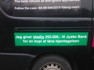BEDRAGERI Fraud in the Danish banks by by Jyske Bank management #Bank #AnderChristianDam #Gangcrimes #Crimes #Stock #Recommendations #Rental #Property #Lejebolig #Journalist #Press - When the Danish banks deceive their customers a case of fraud in Danish banks against customers :-( :-( When the #Danish #Banks as #jyskebank are making fraud And the gang leader, Anders Dam controls the bank's fraud. :-( Anders Dam Bank's CEO refuses to quit fraud against customers - So it only shows how criminal the Danish jyske bank is. :-) Do not trust the #JyskeBank they are #Lying constantly, when the bank cheats you The fraud that is #organized through by 3 departments, and many members of the organization JYSKE BANK :-( The Danish bank jyske bank is a criminal business Follow the case in Danish law BS 99-698/2015 :-) :-) - Thanks to all of you we meet on the road. Which gives us your full support to the fight against the Danish fraud bank. JYSKE BANK :-) :-) Please ask the bank, jyske bank if we have raised a loan of DKK 4.328.000 In Danish bank nykredit. as the Jyske bank writes to their customer, who is ill after a brain bleeding - As the bank is facing Danish courts and claim is a loan behind the interest rate swap The swsp Jyske Bank itself made 16-07-2008 #Financial #News #Press #Share #Pol #Recommendation #Sale #Firesale #AndersDam #JyskeBank #ATP #PFA #MortenUlrikGade #PhilipBaruch#LES #GF #BirgitBushThuesen #LundElmerSandager #Nykredit #MetteEgholmNielsen #Loan #Fraud #CasperDamOlsen #NicolaiHansen#SørenWoergaard #AnetteKirkeby #Koncernledelse #Jyskebank #Koncernbestyrelsen #SvenBuhrkall #KurtBligaardPedersen #RinaAsmussen #PhilipBaruch #JensABorup #KeldNorup #ChristinaLykkeMunk #HaggaiKunisch #MarianneLillevang #Koncerndirektionen #AndersDam #LeifFLarsen #NielsErikJakobsen #PerSkovhus #PeterSchleidt -IMG_1105