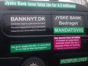 BEDRAGERI Fraud in the Danish banks by by Jyske Bank management #Bank #AnderChristianDam #Gangcrimes #Crimes #Stock #Recommendations #Rental #Property #Lejebolig #Journalist #Press - When the Danish banks deceive their customers a case of fraud in Danish banks against customers :-( :-( When the #Danish #Banks as #jyskebank are making fraud And the gang leader, Anders Dam controls the bank's fraud. :-( Anders Dam Bank's CEO refuses to quit fraud against customers - So it only shows how criminal the Danish jyske bank is. :-) Do not trust the #JyskeBank they are #Lying constantly, when the bank cheats you The fraud that is #organized through by 3 departments, and many members of the organization JYSKE BANK :-( The Danish bank jyske bank is a criminal business Follow the case in Danish law BS 99-698/2015 :-) :-) - Thanks to all of you we meet on the road. Which gives us your full support to the fight against the Danish fraud bank. JYSKE BANK :-) :-) Please ask the bank, jyske bank if we have raised a loan of DKK 4.328.000 In Danish bank nykredit. as the Jyske bank writes to their customer, who is ill after a brain bleeding - As the bank is facing Danish courts and claim is a loan behind the interest rate swap The swsp Jyske Bank itself made 16-07-2008 #Financial #News #Press #Share #Pol #Recommendation #Sale #Firesale #AndersDam #JyskeBank #ATP #PFA #MortenUlrikGade #PhilipBaruch#LES #GF #BirgitBushThuesen #LundElmerSandager #Nykredit #MetteEgholmNielsen #Loan #Fraud #CasperDamOlsen #NicolaiHansen#SørenWoergaard #AnetteKirkeby #Koncernledelse #Jyskebank #Koncernbestyrelsen #SvenBuhrkall #KurtBligaardPedersen #RinaAsmussen #PhilipBaruch #JensABorup #KeldNorup #ChristinaLykkeMunk #HaggaiKunisch #MarianneLillevang #Koncerndirektionen #AndersDam #LeifFLarsen #NielsErikJakobsen #PerSkovhus #PeterSchleidt -IMG_1106