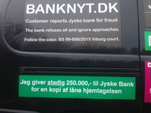 BEDRAGERI Fraud in the Danish banks by by Jyske Bank management #Bank #AnderChristianDam #Gangcrimes #Crimes #Stock #Recommendations #Rental #Property #Lejebolig #Journalist #Press - When the Danish banks deceive their customers a case of fraud in Danish banks against customers :-( :-( When the #Danish #Banks as #jyskebank are making fraud And the gang leader, Anders Dam controls the bank's fraud. :-( Anders Dam Bank's CEO refuses to quit fraud against customers - So it only shows how criminal the Danish jyske bank is. :-) Do not trust the #JyskeBank they are #Lying constantly, when the bank cheats you The fraud that is #organized through by 3 departments, and many members of the organization JYSKE BANK :-( The Danish bank jyske bank is a criminal business Follow the case in Danish law BS 99-698/2015 :-) :-) - Thanks to all of you we meet on the road. Which gives us your full support to the fight against the Danish fraud bank. JYSKE BANK :-) :-) Please ask the bank, jyske bank if we have raised a loan of DKK 4.328.000 In Danish bank nykredit. as the Jyske bank writes to their customer, who is ill after a brain bleeding - As the bank is facing Danish courts and claim is a loan behind the interest rate swap The swsp Jyske Bank itself made 16-07-2008 #Financial #News #Press #Share #Pol #Recommendation #Sale #Firesale #AndersDam #JyskeBank #ATP #PFA #MortenUlrikGade #PhilipBaruch#LES #GF #BirgitBushThuesen #LundElmerSandager #Nykredit #MetteEgholmNielsen #Loan #Fraud #CasperDamOlsen #NicolaiHansen#SørenWoergaard #AnetteKirkeby #Koncernledelse #Jyskebank #Koncernbestyrelsen #SvenBuhrkall #KurtBligaardPedersen #RinaAsmussen #PhilipBaruch #JensABorup #KeldNorup #ChristinaLykkeMunk #HaggaiKunisch #MarianneLillevang #Koncerndirektionen #AndersDam #LeifFLarsen #NielsErikJakobsen #PerSkovhus #PeterSchleidt -IMG_1108