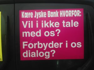 BEDRAGERI Fraud in the Danish banks by by Jyske Bank management #Bank #AnderChristianDam #Gangcrimes #Crimes #Stock #Recommendations #Rental #Property #Lejebolig #Journalist #Press - When the Danish banks deceive their customers a case of fraud in Danish banks against customers :-( :-( When the #Danish #Banks as #jyskebank are making fraud And the gang leader, Anders Dam controls the bank's fraud. :-( Anders Dam Bank's CEO refuses to quit fraud against customers - So it only shows how criminal the Danish jyske bank is. :-) Do not trust the #JyskeBank they are #Lying constantly, when the bank cheats you The fraud that is #organized through by 3 departments, and many members of the organization JYSKE BANK :-( The Danish bank jyske bank is a criminal business Follow the case in Danish law BS 99-698/2015 :-) :-) - Thanks to all of you we meet on the road. Which gives us your full support to the fight against the Danish fraud bank. JYSKE BANK :-) :-) Please ask the bank, jyske bank if we have raised a loan of DKK 4.328.000 In Danish bank nykredit. as the Jyske bank writes to their customer, who is ill after a brain bleeding - As the bank is facing Danish courts and claim is a loan behind the interest rate swap The swsp Jyske Bank itself made 16-07-2008 #Financial #News #Press #Share #Pol #Recommendation #Sale #Firesale #AndersDam #JyskeBank #ATP #PFA #MortenUlrikGade #PhilipBaruch#LES #GF #BirgitBushThuesen #LundElmerSandager #Nykredit #MetteEgholmNielsen #Loan #Fraud #CasperDamOlsen #NicolaiHansen#SørenWoergaard #AnetteKirkeby #Koncernledelse #Jyskebank #Koncernbestyrelsen #SvenBuhrkall #KurtBligaardPedersen #RinaAsmussen #PhilipBaruch #JensABorup #KeldNorup #ChristinaLykkeMunk #HaggaiKunisch #MarianneLillevang #Koncerndirektionen #AndersDam #LeifFLarsen #NielsErikJakobsen #PerSkovhus #PeterSchleidt -IMG_1109
