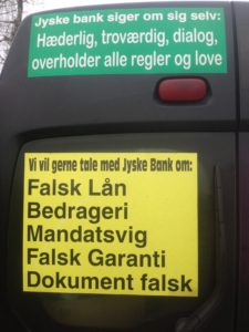 BEDRAGERI Fraud in the Danish banks by by Jyske Bank management #Bank #AnderChristianDam #Gangcrimes #Crimes #Stock #Recommendations #Rental #Property #Lejebolig #Journalist #Press - When the Danish banks deceive their customers a case of fraud in Danish banks against customers :-( :-( When the #Danish #Banks as #jyskebank are making fraud And the gang leader, Anders Dam controls the bank's fraud. :-( Anders Dam Bank's CEO refuses to quit fraud against customers - So it only shows how criminal the Danish jyske bank is. :-) Do not trust the #JyskeBank they are #Lying constantly, when the bank cheats you The fraud that is #organized through by 3 departments, and many members of the organization JYSKE BANK :-( The Danish bank jyske bank is a criminal business Follow the case in Danish law BS 99-698/2015 :-) :-) - Thanks to all of you we meet on the road. Which gives us your full support to the fight against the Danish fraud bank. JYSKE BANK :-) :-) Please ask the bank, jyske bank if we have raised a loan of DKK 4.328.000 In Danish bank nykredit. as the Jyske bank writes to their customer, who is ill after a brain bleeding - As the bank is facing Danish courts and claim is a loan behind the interest rate swap The swsp Jyske Bank itself made 16-07-2008 #Financial #News #Press #Share #Pol #Recommendation #Sale #Firesale #AndersDam #JyskeBank #ATP #PFA #MortenUlrikGade #PhilipBaruch#LES #GF #BirgitBushThuesen #LundElmerSandager #Nykredit #MetteEgholmNielsen #Loan #Fraud #CasperDamOlsen #NicolaiHansen#SørenWoergaard #AnetteKirkeby #Koncernledelse #Jyskebank #Koncernbestyrelsen #SvenBuhrkall #KurtBligaardPedersen #RinaAsmussen #PhilipBaruch #JensABorup #KeldNorup #ChristinaLykkeMunk #HaggaiKunisch #MarianneLillevang #Koncerndirektionen #AndersDam #LeifFLarsen #NielsErikJakobsen #PerSkovhus #PeterSchleidt -IMG_1111