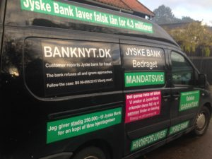 Kontakt Jyske Bank hvis du vil have ærlig rådgivning www.banknyt.dk #Danmarks store #kriminelle #virksomhed #Danske #Svindel #Bank #Jyskebank kender ikke til #hæderlighed, og #bedrager lille #virksomhed på trods af at #AndersDam og koncern ledelsen er oplyst om, at den kriminelle jyske bank bevist bedrager kunden ved #Svig og #Falsk på 10'ende år. #Ærlighed eller #Hæderlighed #Lyve #Bedrageri #Dokumentfalsk #Bedrageriske #Stjålende - BEDRAGERI Fraud in the Danish banks by by Jyske Bank management #Bank #AnderChristianDam #Gangcrimes #Crimes #Stock #Recommendations #Rental #Property #Lejebolig #Journalist #Press - When the Danish banks deceive their customers a case of fraud in Danish banks against customers :-( :-( When the #Danish #Banks as #jyskebank are making fraud And the gang leader, Anders Dam controls the bank's fraud. :-( Anders Dam Bank's CEO refuses to quit fraud against customers - So it only shows how criminal the Danish jyske bank is. :-) Do not trust the #JyskeBank they are #Lying constantly, when the bank cheats you The fraud that is #organized through by 3 departments, and many members of the organization JYSKE BANK :-( The Danish bank jyske bank is a criminal business Follow the case in Danish law BS 99-698/2015 :-) :-) - Thanks to all of you we meet on the road. Which gives us your full support to the fight against the Danish fraud bank. JYSKE BANK :-) :-) Please ask the bank, jyske bank if we have raised a loan of DKK 4.328.000 In Danish bank nykredit. as the Jyske bank writes to their customer, who is ill after a brain bleeding - As the bank is facing Danish courts and claim is a loan behind the interest rate swap The swsp Jyske Bank itself made 16-07-2008 #Financial #News #Press #Share #Pol #Recommendation #Sale #Firesale #AndersDam #JyskeBank #ATP #PFA #MortenUlrikGade #PhilipBaruch#LES #GF #BirgitBushThuesen #LundElmerSandager #Nykredit #MetteEgholmNielsen #Loan #Fraud #CasperDamOlsen #NicolaiHansen#SørenWoergaard #AnetteKirkeby #Koncernledelse #Jyskebank #Koncernbestyrelsen #SvenBuhrkall #KurtBligaardPedersen #RinaAsmussen #PhilipBaruch #JensABorup #KeldNorup #ChristinaLykkeMunk #HaggaiKunisch #MarianneLillevang #Koncerndirektionen #AndersDam #LeifFLarsen #NielsErikJakobsen #PerSkovhus #PeterSchleidt -IMG_1274