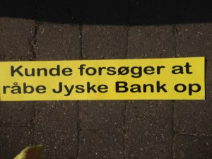 Kontakt Jyske Bank hvis du vil have ærlig rådgivning www.banknyt.dk #Danmarks store #kriminelle #virksomhed #Danske #Svindel #Bank #Jyskebank kender ikke til #hæderlighed, og #bedrager lille #virksomhed på trods af at #AndersDam og koncern ledelsen er oplyst om, at den kriminelle jyske bank bevist bedrager kunden ved #Svig og #Falsk på 10'ende år. #Ærlighed eller #Hæderlighed #Lyve #Bedrageri #Dokumentfalsk #Bedrageriske #Stjålende - BEDRAGERI Fraud in the Danish banks by by Jyske Bank management #Bank #AnderChristianDam #Gangcrimes #Crimes #Stock #Recommendations #Rental #Property #Lejebolig #Journalist #Press - When the Danish banks deceive their customers a case of fraud in Danish banks against customers :-( :-( When the #Danish #Banks as #jyskebank are making fraud And the gang leader, Anders Dam controls the bank's fraud. :-( Anders Dam Bank's CEO refuses to quit fraud against customers - So it only shows how criminal the Danish jyske bank is. :-) Do not trust the #JyskeBank they are #Lying constantly, when the bank cheats you The fraud that is #organized through by 3 departments, and many members of the organization JYSKE BANK :-( The Danish bank jyske bank is a criminal business Follow the case in Danish law BS 99-698/2015 :-) :-) - Thanks to all of you we meet on the road. Which gives us your full support to the fight against the Danish fraud bank. JYSKE BANK :-) :-) Please ask the bank, jyske bank if we have raised a loan of DKK 4.328.000 In Danish bank nykredit. as the Jyske bank writes to their customer, who is ill after a brain bleeding - As the bank is facing Danish courts and claim is a loan behind the interest rate swap The swsp Jyske Bank itself made 16-07-2008 #Financial #News #Press #Share #Pol #Recommendation #Sale #Firesale #AndersDam #JyskeBank #ATP #PFA #MortenUlrikGade #PhilipBaruch#LES #GF #BirgitBushThuesen #LundElmerSandager #Nykredit #MetteEgholmNielsen #Loan #Fraud #CasperDamOlsen #NicolaiHansen#SørenWoergaard #AnetteKirkeby #Koncernledelse #Jyskebank #Koncernbestyrelsen #SvenBuhrkall #KurtBligaardPedersen #RinaAsmussen #PhilipBaruch #JensABorup #KeldNorup #ChristinaLykkeMunk #HaggaiKunisch #MarianneLillevang #Koncerndirektionen #AndersDam #LeifFLarsen #NielsErikJakobsen #PerSkovhus #PeterSchleidt -IMG_2596
