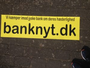 Kontakt Jyske Bank hvis du vil have ærlig rådgivning www.banknyt.dk #Danmarks store #kriminelle #virksomhed #Danske #Svindel #Bank #Jyskebank kender ikke til #hæderlighed, og #bedrager lille #virksomhed på trods af at #AndersDam og koncern ledelsen er oplyst om, at den kriminelle jyske bank bevist bedrager kunden ved #Svig og #Falsk på 10'ende år. #Ærlighed eller #Hæderlighed #Lyve #Bedrageri #Dokumentfalsk #Bedrageriske #Stjålende - BEDRAGERI Fraud in the Danish banks by by Jyske Bank management #Bank #AnderChristianDam #Gangcrimes #Crimes #Stock #Recommendations #Rental #Property #Lejebolig #Journalist #Press - When the Danish banks deceive their customers a case of fraud in Danish banks against customers :-( :-( When the #Danish #Banks as #jyskebank are making fraud And the gang leader, Anders Dam controls the bank's fraud. :-( Anders Dam Bank's CEO refuses to quit fraud against customers - So it only shows how criminal the Danish jyske bank is. :-) Do not trust the #JyskeBank they are #Lying constantly, when the bank cheats you The fraud that is #organized through by 3 departments, and many members of the organization JYSKE BANK :-( The Danish bank jyske bank is a criminal business Follow the case in Danish law BS 99-698/2015 :-) :-) - Thanks to all of you we meet on the road. Which gives us your full support to the fight against the Danish fraud bank. JYSKE BANK :-) :-) Please ask the bank, jyske bank if we have raised a loan of DKK 4.328.000 In Danish bank nykredit. as the Jyske bank writes to their customer, who is ill after a brain bleeding - As the bank is facing Danish courts and claim is a loan behind the interest rate swap The swsp Jyske Bank itself made 16-07-2008 #Financial #News #Press #Share #Pol #Recommendation #Sale #Firesale #AndersDam #JyskeBank #ATP #PFA #MortenUlrikGade #PhilipBaruch#LES #GF #BirgitBushThuesen #LundElmerSandager #Nykredit #MetteEgholmNielsen #Loan #Fraud #CasperDamOlsen #NicolaiHansen#SørenWoergaard #AnetteKirkeby #Koncernledelse #Jyskebank #Koncernbestyrelsen #SvenBuhrkall #KurtBligaardPedersen #RinaAsmussen #PhilipBaruch #JensABorup #KeldNorup #ChristinaLykkeMunk #HaggaiKunisch #MarianneLillevang #Koncerndirektionen #AndersDam #LeifFLarsen #NielsErikJakobsen #PerSkovhus #PeterSchleidt -IMG_2602