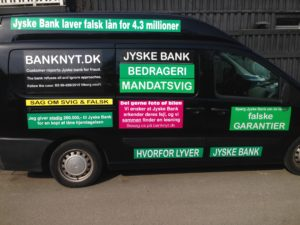 Kontakt Jyske Bank hvis du vil have ærlig rådgivning www.banknyt.dk #Danmarks store #kriminelle #virksomhed #Danske #Svindel #Bank #Jyskebank kender ikke til #hæderlighed, og #bedrager lille #virksomhed på trods af at #AndersDam og koncern ledelsen er oplyst om, at den kriminelle jyske bank bevist bedrager kunden ved #Svig og #Falsk på 10'ende år. #Ærlighed eller #Hæderlighed #Lyve #Bedrageri #Dokumentfalsk #Bedrageriske #Stjålende - BEDRAGERI Fraud in the Danish banks by by Jyske Bank management #Bank #AnderChristianDam #Gangcrimes #Crimes #Stock #Recommendations #Rental #Property #Lejebolig #Journalist #Press - When the Danish banks deceive their customers a case of fraud in Danish banks against customers :-( :-( When the #Danish #Banks as #jyskebank are making fraud And the gang leader, Anders Dam controls the bank's fraud. :-( Anders Dam Bank's CEO refuses to quit fraud against customers - So it only shows how criminal the Danish jyske bank is. :-) Do not trust the #JyskeBank they are #Lying constantly, when the bank cheats you The fraud that is #organized through by 3 departments, and many members of the organization JYSKE BANK :-( The Danish bank jyske bank is a criminal business Follow the case in Danish law BS 99-698/2015 :-) :-) - Thanks to all of you we meet on the road. Which gives us your full support to the fight against the Danish fraud bank. JYSKE BANK :-) :-) Please ask the bank, jyske bank if we have raised a loan of DKK 4.328.000 In Danish bank nykredit. as the Jyske bank writes to their customer, who is ill after a brain bleeding - As the bank is facing Danish courts and claim is a loan behind the interest rate swap The swsp Jyske Bank itself made 16-07-2008 #Financial #News #Press #Share #Pol #Recommendation #Sale #Firesale #AndersDam #JyskeBank #ATP #PFA #MortenUlrikGade #PhilipBaruch#LES #GF #BirgitBushThuesen #LundElmerSandager #Nykredit #MetteEgholmNielsen #Loan #Fraud #CasperDamOlsen #NicolaiHansen#SørenWoergaard #AnetteKirkeby #Koncernledelse #Jyskebank #Koncernbestyrelsen #SvenBuhrkall #KurtBligaardPedersen #RinaAsmussen #PhilipBaruch #JensABorup #KeldNorup #ChristinaLykkeMunk #HaggaiKunisch #MarianneLillevang #Koncerndirektionen #AndersDam #LeifFLarsen #NielsErikJakobsen #PerSkovhus #PeterSchleidt -IMG_2615