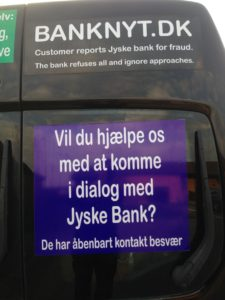 Kontakt Jyske Bank hvis du vil have ærlig rådgivning www.banknyt.dk #Danmarks store #kriminelle #virksomhed #Danske #Svindel #Bank #Jyskebank kender ikke til #hæderlighed, og #bedrager lille #virksomhed på trods af at #AndersDam og koncern ledelsen er oplyst om, at den kriminelle jyske bank bevist bedrager kunden ved #Svig og #Falsk på 10'ende år. #Ærlighed eller #Hæderlighed #Lyve #Bedrageri #Dokumentfalsk #Bedrageriske #Stjålende - BEDRAGERI Fraud in the Danish banks by by Jyske Bank management #Bank #AnderChristianDam #Gangcrimes #Crimes #Stock #Recommendations #Rental #Property #Lejebolig #Journalist #Press - When the Danish banks deceive their customers a case of fraud in Danish banks against customers :-( :-( When the #Danish #Banks as #jyskebank are making fraud And the gang leader, Anders Dam controls the bank's fraud. :-( Anders Dam Bank's CEO refuses to quit fraud against customers - So it only shows how criminal the Danish jyske bank is. :-) Do not trust the #JyskeBank they are #Lying constantly, when the bank cheats you The fraud that is #organized through by 3 departments, and many members of the organization JYSKE BANK :-( The Danish bank jyske bank is a criminal business Follow the case in Danish law BS 99-698/2015 :-) :-) - Thanks to all of you we meet on the road. Which gives us your full support to the fight against the Danish fraud bank. JYSKE BANK :-) :-) Please ask the bank, jyske bank if we have raised a loan of DKK 4.328.000 In Danish bank nykredit. as the Jyske bank writes to their customer, who is ill after a brain bleeding - As the bank is facing Danish courts and claim is a loan behind the interest rate swap The swsp Jyske Bank itself made 16-07-2008 #Financial #News #Press #Share #Pol #Recommendation #Sale #Firesale #AndersDam #JyskeBank #ATP #PFA #MortenUlrikGade #PhilipBaruch#LES #GF #BirgitBushThuesen #LundElmerSandager #Nykredit #MetteEgholmNielsen #Loan #Fraud #CasperDamOlsen #NicolaiHansen#SørenWoergaard #AnetteKirkeby #Koncernledelse #Jyskebank #Koncernbestyrelsen #SvenBuhrkall #KurtBligaardPedersen #RinaAsmussen #PhilipBaruch #JensABorup #KeldNorup #ChristinaLykkeMunk #HaggaiKunisch #MarianneLillevang #Koncerndirektionen #AndersDam #LeifFLarsen #NielsErikJakobsen #PerSkovhus #PeterSchleidt -IMG_2621
