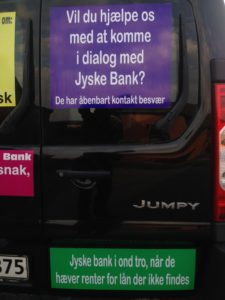 Kontakt Jyske Bank hvis du vil have ærlig rådgivning www.banknyt.dk #Danmarks store #kriminelle #virksomhed #Danske #Svindel #Bank #Jyskebank kender ikke til #hæderlighed, og #bedrager lille #virksomhed på trods af at #AndersDam og koncern ledelsen er oplyst om, at den kriminelle jyske bank bevist bedrager kunden ved #Svig og #Falsk på 10'ende år. #Ærlighed eller #Hæderlighed #Lyve #Bedrageri #Dokumentfalsk #Bedrageriske #Stjålende - BEDRAGERI Fraud in the Danish banks by by Jyske Bank management #Bank #AnderChristianDam #Gangcrimes #Crimes #Stock #Recommendations #Rental #Property #Lejebolig #Journalist #Press - When the Danish banks deceive their customers a case of fraud in Danish banks against customers :-( :-( When the #Danish #Banks as #jyskebank are making fraud And the gang leader, Anders Dam controls the bank's fraud. :-( Anders Dam Bank's CEO refuses to quit fraud against customers - So it only shows how criminal the Danish jyske bank is. :-) Do not trust the #JyskeBank they are #Lying constantly, when the bank cheats you The fraud that is #organized through by 3 departments, and many members of the organization JYSKE BANK :-( The Danish bank jyske bank is a criminal business Follow the case in Danish law BS 99-698/2015 :-) :-) - Thanks to all of you we meet on the road. Which gives us your full support to the fight against the Danish fraud bank. JYSKE BANK :-) :-) Please ask the bank, jyske bank if we have raised a loan of DKK 4.328.000 In Danish bank nykredit. as the Jyske bank writes to their customer, who is ill after a brain bleeding - As the bank is facing Danish courts and claim is a loan behind the interest rate swap The swsp Jyske Bank itself made 16-07-2008 #Financial #News #Press #Share #Pol #Recommendation #Sale #Firesale #AndersDam #JyskeBank #ATP #PFA #MortenUlrikGade #PhilipBaruch#LES #GF #BirgitBushThuesen #LundElmerSandager #Nykredit #MetteEgholmNielsen #Loan #Fraud #CasperDamOlsen #NicolaiHansen#SørenWoergaard #AnetteKirkeby #Koncernledelse #Jyskebank #Koncernbestyrelsen #SvenBuhrkall #KurtBligaardPedersen #RinaAsmussen #PhilipBaruch #JensABorup #KeldNorup #ChristinaLykkeMunk #HaggaiKunisch #MarianneLillevang #Koncerndirektionen #AndersDam #LeifFLarsen #NielsErikJakobsen #PerSkovhus #PeterSchleidt -IMG_2622