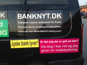 Kontakt Jyske Bank hvis du vil have ærlig rådgivning www.banknyt.dk #Danmarks store #kriminelle #virksomhed #Danske #Svindel #Bank #Jyskebank kender ikke til #hæderlighed, og #bedrager lille #virksomhed på trods af at #AndersDam og koncern ledelsen er oplyst om, at den kriminelle jyske bank bevist bedrager kunden ved #Svig og #Falsk på 10'ende år. #Ærlighed eller #Hæderlighed #Lyve #Bedrageri #Dokumentfalsk #Bedrageriske #Stjålende - BEDRAGERI Fraud in the Danish banks by by Jyske Bank management #Bank #AnderChristianDam #Gangcrimes #Crimes #Stock #Recommendations #Rental #Property #Lejebolig #Journalist #Press - When the Danish banks deceive their customers a case of fraud in Danish banks against customers :-( :-( When the #Danish #Banks as #jyskebank are making fraud And the gang leader, Anders Dam controls the bank's fraud. :-( Anders Dam Bank's CEO refuses to quit fraud against customers - So it only shows how criminal the Danish jyske bank is. :-) Do not trust the #JyskeBank they are #Lying constantly, when the bank cheats you The fraud that is #organized through by 3 departments, and many members of the organization JYSKE BANK :-( The Danish bank jyske bank is a criminal business Follow the case in Danish law BS 99-698/2015 :-) :-) - Thanks to all of you we meet on the road. Which gives us your full support to the fight against the Danish fraud bank. JYSKE BANK :-) :-) Please ask the bank, jyske bank if we have raised a loan of DKK 4.328.000 In Danish bank nykredit. as the Jyske bank writes to their customer, who is ill after a brain bleeding - As the bank is facing Danish courts and claim is a loan behind the interest rate swap The swsp Jyske Bank itself made 16-07-2008 #Financial #News #Press #Share #Pol #Recommendation #Sale #Firesale #AndersDam #JyskeBank #ATP #PFA #MortenUlrikGade #PhilipBaruch#LES #GF #BirgitBushThuesen #LundElmerSandager #Nykredit #MetteEgholmNielsen #Loan #Fraud #CasperDamOlsen #NicolaiHansen#SørenWoergaard #AnetteKirkeby #Koncernledelse #Jyskebank #Koncernbestyrelsen #SvenBuhrkall #KurtBligaardPedersen #RinaAsmussen #PhilipBaruch #JensABorup #KeldNorup #ChristinaLykkeMunk #HaggaiKunisch #MarianneLillevang #Koncerndirektionen #AndersDam #LeifFLarsen #NielsErikJakobsen #PerSkovhus #PeterSchleidt -IMG_2640