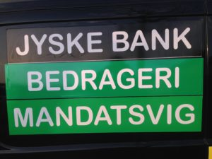 Kontakt Jyske Bank hvis du vil have ærlig rådgivning www.banknyt.dk #Danmarks store #kriminelle #virksomhed #Danske #Svindel #Bank #Jyskebank kender ikke til #hæderlighed, og #bedrager lille #virksomhed på trods af at #AndersDam og koncern ledelsen er oplyst om, at den kriminelle jyske bank bevist bedrager kunden ved #Svig og #Falsk på 10'ende år. #Ærlighed eller #Hæderlighed #Lyve #Bedrageri #Dokumentfalsk #Bedrageriske #Stjålende - BEDRAGERI Fraud in the Danish banks by by Jyske Bank management #Bank #AnderChristianDam #Gangcrimes #Crimes #Stock #Recommendations #Rental #Property #Lejebolig #Journalist #Press - When the Danish banks deceive their customers a case of fraud in Danish banks against customers :-( :-( When the #Danish #Banks as #jyskebank are making fraud And the gang leader, Anders Dam controls the bank's fraud. :-( Anders Dam Bank's CEO refuses to quit fraud against customers - So it only shows how criminal the Danish jyske bank is. :-) Do not trust the #JyskeBank they are #Lying constantly, when the bank cheats you The fraud that is #organized through by 3 departments, and many members of the organization JYSKE BANK :-( The Danish bank jyske bank is a criminal business Follow the case in Danish law BS 99-698/2015 :-) :-) - Thanks to all of you we meet on the road. Which gives us your full support to the fight against the Danish fraud bank. JYSKE BANK :-) :-) Please ask the bank, jyske bank if we have raised a loan of DKK 4.328.000 In Danish bank nykredit. as the Jyske bank writes to their customer, who is ill after a brain bleeding - As the bank is facing Danish courts and claim is a loan behind the interest rate swap The swsp Jyske Bank itself made 16-07-2008 #Financial #News #Press #Share #Pol #Recommendation #Sale #Firesale #AndersDam #JyskeBank #ATP #PFA #MortenUlrikGade #PhilipBaruch#LES #GF #BirgitBushThuesen #LundElmerSandager #Nykredit #MetteEgholmNielsen #Loan #Fraud #CasperDamOlsen #NicolaiHansen#SørenWoergaard #AnetteKirkeby #Koncernledelse #Jyskebank #Koncernbestyrelsen #SvenBuhrkall #KurtBligaardPedersen #RinaAsmussen #PhilipBaruch #JensABorup #KeldNorup #ChristinaLykkeMunk #HaggaiKunisch #MarianneLillevang #Koncerndirektionen #AndersDam #LeifFLarsen #NielsErikJakobsen #PerSkovhus #PeterSchleidt -IMG_2643