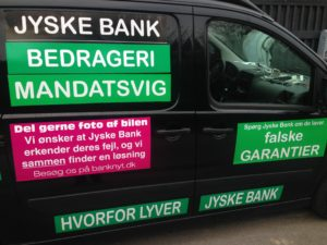 Kontakt Jyske Bank hvis du vil have ærlig rådgivning www.banknyt.dk #Danmarks store #kriminelle #virksomhed #Danske #Svindel #Bank #Jyskebank kender ikke til #hæderlighed, og #bedrager lille #virksomhed på trods af at #AndersDam og koncern ledelsen er oplyst om, at den kriminelle jyske bank bevist bedrager kunden ved #Svig og #Falsk på 10'ende år. #Ærlighed eller #Hæderlighed #Lyve #Bedrageri #Dokumentfalsk #Bedrageriske #Stjålende - BEDRAGERI Fraud in the Danish banks by by Jyske Bank management #Bank #AnderChristianDam #Gangcrimes #Crimes #Stock #Recommendations #Rental #Property #Lejebolig #Journalist #Press - When the Danish banks deceive their customers a case of fraud in Danish banks against customers :-( :-( When the #Danish #Banks as #jyskebank are making fraud And the gang leader, Anders Dam controls the bank's fraud. :-( Anders Dam Bank's CEO refuses to quit fraud against customers - So it only shows how criminal the Danish jyske bank is. :-) Do not trust the #JyskeBank they are #Lying constantly, when the bank cheats you The fraud that is #organized through by 3 departments, and many members of the organization JYSKE BANK :-( The Danish bank jyske bank is a criminal business Follow the case in Danish law BS 99-698/2015 :-) :-) - Thanks to all of you we meet on the road. Which gives us your full support to the fight against the Danish fraud bank. JYSKE BANK :-) :-) Please ask the bank, jyske bank if we have raised a loan of DKK 4.328.000 In Danish bank nykredit. as the Jyske bank writes to their customer, who is ill after a brain bleeding - As the bank is facing Danish courts and claim is a loan behind the interest rate swap The swsp Jyske Bank itself made 16-07-2008 #Financial #News #Press #Share #Pol #Recommendation #Sale #Firesale #AndersDam #JyskeBank #ATP #PFA #MortenUlrikGade #PhilipBaruch#LES #GF #BirgitBushThuesen #LundElmerSandager #Nykredit #MetteEgholmNielsen #Loan #Fraud #CasperDamOlsen #NicolaiHansen#SørenWoergaard #AnetteKirkeby #Koncernledelse #Jyskebank #Koncernbestyrelsen #SvenBuhrkall #KurtBligaardPedersen #RinaAsmussen #PhilipBaruch #JensABorup #KeldNorup #ChristinaLykkeMunk #HaggaiKunisch #MarianneLillevang #Koncerndirektionen #AndersDam #LeifFLarsen #NielsErikJakobsen #PerSkovhus #PeterSchleidt -IMG_2658