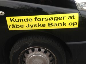 Kontakt Jyske Bank hvis du vil have ærlig rådgivning www.banknyt.dk #Danmarks store #kriminelle #virksomhed #Danske #Svindel #Bank #Jyskebank kender ikke til #hæderlighed, og #bedrager lille #virksomhed på trods af at #AndersDam og koncern ledelsen er oplyst om, at den kriminelle jyske bank bevist bedrager kunden ved #Svig og #Falsk på 10'ende år. #Ærlighed eller #Hæderlighed #Lyve #Bedrageri #Dokumentfalsk #Bedrageriske #Stjålende - BEDRAGERI Fraud in the Danish banks by by Jyske Bank management #Bank #AnderChristianDam #Gangcrimes #Crimes #Stock #Recommendations #Rental #Property #Lejebolig #Journalist #Press - When the Danish banks deceive their customers a case of fraud in Danish banks against customers :-( :-( When the #Danish #Banks as #jyskebank are making fraud And the gang leader, Anders Dam controls the bank's fraud. :-( Anders Dam Bank's CEO refuses to quit fraud against customers - So it only shows how criminal the Danish jyske bank is. :-) Do not trust the #JyskeBank they are #Lying constantly, when the bank cheats you The fraud that is #organized through by 3 departments, and many members of the organization JYSKE BANK :-( The Danish bank jyske bank is a criminal business Follow the case in Danish law BS 99-698/2015 :-) :-) - Thanks to all of you we meet on the road. Which gives us your full support to the fight against the Danish fraud bank. JYSKE BANK :-) :-) Please ask the bank, jyske bank if we have raised a loan of DKK 4.328.000 In Danish bank nykredit. as the Jyske bank writes to their customer, who is ill after a brain bleeding - As the bank is facing Danish courts and claim is a loan behind the interest rate swap The swsp Jyske Bank itself made 16-07-2008 #Financial #News #Press #Share #Pol #Recommendation #Sale #Firesale #AndersDam #JyskeBank #ATP #PFA #MortenUlrikGade #PhilipBaruch#LES #GF #BirgitBushThuesen #LundElmerSandager #Nykredit #MetteEgholmNielsen #Loan #Fraud #CasperDamOlsen #NicolaiHansen#SørenWoergaard #AnetteKirkeby #Koncernledelse #Jyskebank #Koncernbestyrelsen #SvenBuhrkall #KurtBligaardPedersen #RinaAsmussen #PhilipBaruch #JensABorup #KeldNorup #ChristinaLykkeMunk #HaggaiKunisch #MarianneLillevang #Koncerndirektionen #AndersDam #LeifFLarsen #NielsErikJakobsen #PerSkovhus #PeterSchleidt -IMG_2659