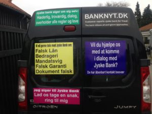 Kontakt Jyske Bank hvis du vil have ærlig rådgivning www.banknyt.dk #Danmarks store #kriminelle #virksomhed #Danske #Svindel #Bank #Jyskebank kender ikke til #hæderlighed, og #bedrager lille #virksomhed på trods af at #AndersDam og koncern ledelsen er oplyst om, at den kriminelle jyske bank bevist bedrager kunden ved #Svig og #Falsk på 10'ende år. #Ærlighed eller #Hæderlighed #Lyve #Bedrageri #Dokumentfalsk #Bedrageriske #Stjålende - BEDRAGERI Fraud in the Danish banks by by Jyske Bank management #Bank #AnderChristianDam #Gangcrimes #Crimes #Stock #Recommendations #Rental #Property #Lejebolig #Journalist #Press - When the Danish banks deceive their customers a case of fraud in Danish banks against customers :-( :-( When the #Danish #Banks as #jyskebank are making fraud And the gang leader, Anders Dam controls the bank's fraud. :-( Anders Dam Bank's CEO refuses to quit fraud against customers - So it only shows how criminal the Danish jyske bank is. :-) Do not trust the #JyskeBank they are #Lying constantly, when the bank cheats you The fraud that is #organized through by 3 departments, and many members of the organization JYSKE BANK :-( The Danish bank jyske bank is a criminal business Follow the case in Danish law BS 99-698/2015 :-) :-) - Thanks to all of you we meet on the road. Which gives us your full support to the fight against the Danish fraud bank. JYSKE BANK :-) :-) Please ask the bank, jyske bank if we have raised a loan of DKK 4.328.000 In Danish bank nykredit. as the Jyske bank writes to their customer, who is ill after a brain bleeding - As the bank is facing Danish courts and claim is a loan behind the interest rate swap The swsp Jyske Bank itself made 16-07-2008 #Financial #News #Press #Share #Pol #Recommendation #Sale #Firesale #AndersDam #JyskeBank #ATP #PFA #MortenUlrikGade #PhilipBaruch#LES #GF #BirgitBushThuesen #LundElmerSandager #Nykredit #MetteEgholmNielsen #Loan #Fraud #CasperDamOlsen #NicolaiHansen#SørenWoergaard #AnetteKirkeby #Koncernledelse #Jyskebank #Koncernbestyrelsen #SvenBuhrkall #KurtBligaardPedersen #RinaAsmussen #PhilipBaruch #JensABorup #KeldNorup #ChristinaLykkeMunk #HaggaiKunisch #MarianneLillevang #Koncerndirektionen #AndersDam #LeifFLarsen #NielsErikJakobsen #PerSkovhus #PeterSchleidt -IMG_2661