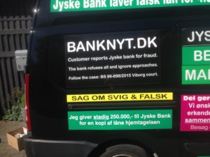 Kontakt Jyske Bank hvis du vil have ærlig rådgivning www.banknyt.dk #Danmarks store #kriminelle #virksomhed #Danske #Svindel #Bank #Jyskebank kender ikke til #hæderlighed, og #bedrager lille #virksomhed på trods af at #AndersDam og koncern ledelsen er oplyst om, at den kriminelle jyske bank bevist bedrager kunden ved #Svig og #Falsk på 10'ende år. #Ærlighed eller #Hæderlighed #Lyve #Bedrageri #Dokumentfalsk #Bedrageriske #Stjålende - BEDRAGERI Fraud in the Danish banks by by Jyske Bank management #Bank #AnderChristianDam #Gangcrimes #Crimes #Stock #Recommendations #Rental #Property #Lejebolig #Journalist #Press - When the Danish banks deceive their customers a case of fraud in Danish banks against customers :-( :-( When the #Danish #Banks as #jyskebank are making fraud And the gang leader, Anders Dam controls the bank's fraud. :-( Anders Dam Bank's CEO refuses to quit fraud against customers - So it only shows how criminal the Danish jyske bank is. :-) Do not trust the #JyskeBank they are #Lying constantly, when the bank cheats you The fraud that is #organized through by 3 departments, and many members of the organization JYSKE BANK :-( The Danish bank jyske bank is a criminal business Follow the case in Danish law BS 99-698/2015 :-) :-) - Thanks to all of you we meet on the road. Which gives us your full support to the fight against the Danish fraud bank. JYSKE BANK :-) :-) Please ask the bank, jyske bank if we have raised a loan of DKK 4.328.000 In Danish bank nykredit. as the Jyske bank writes to their customer, who is ill after a brain bleeding - As the bank is facing Danish courts and claim is a loan behind the interest rate swap The swsp Jyske Bank itself made 16-07-2008 #Financial #News #Press #Share #Pol #Recommendation #Sale #Firesale #AndersDam #JyskeBank #ATP #PFA #MortenUlrikGade #PhilipBaruch#LES #GF #BirgitBushThuesen #LundElmerSandager #Nykredit #MetteEgholmNielsen #Loan #Fraud #CasperDamOlsen #NicolaiHansen#SørenWoergaard #AnetteKirkeby #Koncernledelse #Jyskebank #Koncernbestyrelsen #SvenBuhrkall #KurtBligaardPedersen #RinaAsmussen #PhilipBaruch #JensABorup #KeldNorup #ChristinaLykkeMunk #HaggaiKunisch #MarianneLillevang #Koncerndirektionen #AndersDam #LeifFLarsen #NielsErikJakobsen #PerSkovhus #PeterSchleidt -IMG_3091