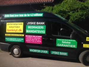 Kontakt Jyske Bank hvis du vil have ærlig rådgivning www.banknyt.dk #Danmarks store #kriminelle #virksomhed #Danske #Svindel #Bank #Jyskebank kender ikke til #hæderlighed, og #bedrager lille #virksomhed på trods af at #AndersDam og koncern ledelsen er oplyst om, at den kriminelle jyske bank bevist bedrager kunden ved #Svig og #Falsk på 10'ende år. #Ærlighed eller #Hæderlighed #Lyve #Bedrageri #Dokumentfalsk #Bedrageriske #Stjålende - BEDRAGERI Fraud in the Danish banks by by Jyske Bank management #Bank #AnderChristianDam #Gangcrimes #Crimes #Stock #Recommendations #Rental #Property #Lejebolig #Journalist #Press - When the Danish banks deceive their customers a case of fraud in Danish banks against customers :-( :-( When the #Danish #Banks as #jyskebank are making fraud And the gang leader, Anders Dam controls the bank's fraud. :-( Anders Dam Bank's CEO refuses to quit fraud against customers - So it only shows how criminal the Danish jyske bank is. :-) Do not trust the #JyskeBank they are #Lying constantly, when the bank cheats you The fraud that is #organized through by 3 departments, and many members of the organization JYSKE BANK :-( The Danish bank jyske bank is a criminal business Follow the case in Danish law BS 99-698/2015 :-) :-) - Thanks to all of you we meet on the road. Which gives us your full support to the fight against the Danish fraud bank. JYSKE BANK :-) :-) Please ask the bank, jyske bank if we have raised a loan of DKK 4.328.000 In Danish bank nykredit. as the Jyske bank writes to their customer, who is ill after a brain bleeding - As the bank is facing Danish courts and claim is a loan behind the interest rate swap The swsp Jyske Bank itself made 16-07-2008 #Financial #News #Press #Share #Pol #Recommendation #Sale #Firesale #AndersDam #JyskeBank #ATP #PFA #MortenUlrikGade #PhilipBaruch#LES #GF #BirgitBushThuesen #LundElmerSandager #Nykredit #MetteEgholmNielsen #Loan #Fraud #CasperDamOlsen #NicolaiHansen#SørenWoergaard #AnetteKirkeby #Koncernledelse #Jyskebank #Koncernbestyrelsen #SvenBuhrkall #KurtBligaardPedersen #RinaAsmussen #PhilipBaruch #JensABorup #KeldNorup #ChristinaLykkeMunk #HaggaiKunisch #MarianneLillevang #Koncerndirektionen #AndersDam #LeifFLarsen #NielsErikJakobsen #PerSkovhus #PeterSchleidt -IMG_3103