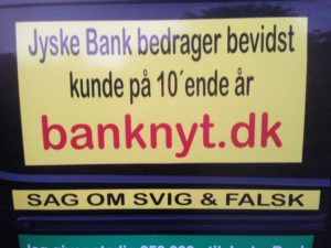Kontakt Jyske Bank hvis du vil have ærlig rådgivning www.banknyt.dk #Danmarks store #kriminelle #virksomhed #Danske #Svindel #Bank #Jyskebank kender ikke til #hæderlighed, og #bedrager lille #virksomhed på trods af at #AndersDam og koncern ledelsen er oplyst om, at den kriminelle jyske bank bevist bedrager kunden ved #Svig og #Falsk på 10'ende år. #Ærlighed eller #Hæderlighed #Lyve #Bedrageri #Dokumentfalsk #Bedrageriske #Stjålende - BEDRAGERI Fraud in the Danish banks by by Jyske Bank management #Bank #AnderChristianDam #Gangcrimes #Crimes #Stock #Recommendations #Rental #Property #Lejebolig #Journalist #Press - When the Danish banks deceive their customers a case of fraud in Danish banks against customers :-( :-( When the #Danish #Banks as #jyskebank are making fraud And the gang leader, Anders Dam controls the bank's fraud. :-( Anders Dam Bank's CEO refuses to quit fraud against customers - So it only shows how criminal the Danish jyske bank is. :-) Do not trust the #JyskeBank they are #Lying constantly, when the bank cheats you The fraud that is #organized through by 3 departments, and many members of the organization JYSKE BANK :-( The Danish bank jyske bank is a criminal business Follow the case in Danish law BS 99-698/2015 :-) :-) - Thanks to all of you we meet on the road. Which gives us your full support to the fight against the Danish fraud bank. JYSKE BANK :-) :-) Please ask the bank, jyske bank if we have raised a loan of DKK 4.328.000 In Danish bank nykredit. as the Jyske bank writes to their customer, who is ill after a brain bleeding - As the bank is facing Danish courts and claim is a loan behind the interest rate swap The swsp Jyske Bank itself made 16-07-2008 #Financial #News #Press #Share #Pol #Recommendation #Sale #Firesale #AndersDam #JyskeBank #ATP #PFA #MortenUlrikGade #PhilipBaruch#LES #GF #BirgitBushThuesen #LundElmerSandager #Nykredit #MetteEgholmNielsen #Loan #Fraud #CasperDamOlsen #NicolaiHansen#SørenWoergaard #AnetteKirkeby #Koncernledelse #Jyskebank #Koncernbestyrelsen #SvenBuhrkall #KurtBligaardPedersen #RinaAsmussen #PhilipBaruch #JensABorup #KeldNorup #ChristinaLykkeMunk #HaggaiKunisch #MarianneLillevang #Koncerndirektionen #AndersDam #LeifFLarsen #NielsErikJakobsen #PerSkovhus #PeterSchleidt -IMG_3106