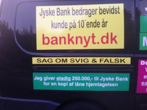 Kontakt Jyske Bank hvis du vil have ærlig rådgivning www.banknyt.dk #Danmarks store #kriminelle #virksomhed #Danske #Svindel #Bank #Jyskebank kender ikke til #hæderlighed, og #bedrager lille #virksomhed på trods af at #AndersDam og koncern ledelsen er oplyst om, at den kriminelle jyske bank bevist bedrager kunden ved #Svig og #Falsk på 10'ende år. #Ærlighed eller #Hæderlighed #Lyve #Bedrageri #Dokumentfalsk #Bedrageriske #Stjålende - BEDRAGERI Fraud in the Danish banks by by Jyske Bank management #Bank #AnderChristianDam #Gangcrimes #Crimes #Stock #Recommendations #Rental #Property #Lejebolig #Journalist #Press - When the Danish banks deceive their customers a case of fraud in Danish banks against customers :-( :-( When the #Danish #Banks as #jyskebank are making fraud And the gang leader, Anders Dam controls the bank's fraud. :-( Anders Dam Bank's CEO refuses to quit fraud against customers - So it only shows how criminal the Danish jyske bank is. :-) Do not trust the #JyskeBank they are #Lying constantly, when the bank cheats you The fraud that is #organized through by 3 departments, and many members of the organization JYSKE BANK :-( The Danish bank jyske bank is a criminal business Follow the case in Danish law BS 99-698/2015 :-) :-) - Thanks to all of you we meet on the road. Which gives us your full support to the fight against the Danish fraud bank. JYSKE BANK :-) :-) Please ask the bank, jyske bank if we have raised a loan of DKK 4.328.000 In Danish bank nykredit. as the Jyske bank writes to their customer, who is ill after a brain bleeding - As the bank is facing Danish courts and claim is a loan behind the interest rate swap The swsp Jyske Bank itself made 16-07-2008 #Financial #News #Press #Share #Pol #Recommendation #Sale #Firesale #AndersDam #JyskeBank #ATP #PFA #MortenUlrikGade #PhilipBaruch#LES #GF #BirgitBushThuesen #LundElmerSandager #Nykredit #MetteEgholmNielsen #Loan #Fraud #CasperDamOlsen #NicolaiHansen#SørenWoergaard #AnetteKirkeby #Koncernledelse #Jyskebank #Koncernbestyrelsen #SvenBuhrkall #KurtBligaardPedersen #RinaAsmussen #PhilipBaruch #JensABorup #KeldNorup #ChristinaLykkeMunk #HaggaiKunisch #MarianneLillevang #Koncerndirektionen #AndersDam #LeifFLarsen #NielsErikJakobsen #PerSkovhus #PeterSchleidt -IMG_3111