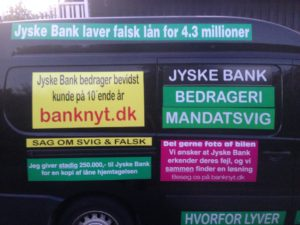 Kontakt Jyske Bank hvis du vil have ærlig rådgivning www.banknyt.dk #Danmarks store #kriminelle #virksomhed #Danske #Svindel #Bank #Jyskebank kender ikke til #hæderlighed, og #bedrager lille #virksomhed på trods af at #AndersDam og koncern ledelsen er oplyst om, at den kriminelle jyske bank bevist bedrager kunden ved #Svig og #Falsk på 10'ende år. #Ærlighed eller #Hæderlighed #Lyve #Bedrageri #Dokumentfalsk #Bedrageriske #Stjålende - BEDRAGERI Fraud in the Danish banks by by Jyske Bank management #Bank #AnderChristianDam #Gangcrimes #Crimes #Stock #Recommendations #Rental #Property #Lejebolig #Journalist #Press - When the Danish banks deceive their customers a case of fraud in Danish banks against customers :-( :-( When the #Danish #Banks as #jyskebank are making fraud And the gang leader, Anders Dam controls the bank's fraud. :-( Anders Dam Bank's CEO refuses to quit fraud against customers - So it only shows how criminal the Danish jyske bank is. :-) Do not trust the #JyskeBank they are #Lying constantly, when the bank cheats you The fraud that is #organized through by 3 departments, and many members of the organization JYSKE BANK :-( The Danish bank jyske bank is a criminal business Follow the case in Danish law BS 99-698/2015 :-) :-) - Thanks to all of you we meet on the road. Which gives us your full support to the fight against the Danish fraud bank. JYSKE BANK :-) :-) Please ask the bank, jyske bank if we have raised a loan of DKK 4.328.000 In Danish bank nykredit. as the Jyske bank writes to their customer, who is ill after a brain bleeding - As the bank is facing Danish courts and claim is a loan behind the interest rate swap The swsp Jyske Bank itself made 16-07-2008 #Financial #News #Press #Share #Pol #Recommendation #Sale #Firesale #AndersDam #JyskeBank #ATP #PFA #MortenUlrikGade #PhilipBaruch#LES #GF #BirgitBushThuesen #LundElmerSandager #Nykredit #MetteEgholmNielsen #Loan #Fraud #CasperDamOlsen #NicolaiHansen#SørenWoergaard #AnetteKirkeby #Koncernledelse #Jyskebank #Koncernbestyrelsen #SvenBuhrkall #KurtBligaardPedersen #RinaAsmussen #PhilipBaruch #JensABorup #KeldNorup #ChristinaLykkeMunk #HaggaiKunisch #MarianneLillevang #Koncerndirektionen #AndersDam #LeifFLarsen #NielsErikJakobsen #PerSkovhus #PeterSchleidt -IMG_3112