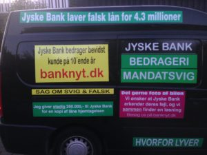 Kontakt Jyske Bank hvis du vil have ærlig rådgivning www.banknyt.dk #Danmarks store #kriminelle #virksomhed #Danske #Svindel #Bank #Jyskebank kender ikke til #hæderlighed, og #bedrager lille #virksomhed på trods af at #AndersDam og koncern ledelsen er oplyst om, at den kriminelle jyske bank bevist bedrager kunden ved #Svig og #Falsk på 10'ende år. #Ærlighed eller #Hæderlighed #Lyve #Bedrageri #Dokumentfalsk #Bedrageriske #Stjålende - BEDRAGERI Fraud in the Danish banks by by Jyske Bank management #Bank #AnderChristianDam #Gangcrimes #Crimes #Stock #Recommendations #Rental #Property #Lejebolig #Journalist #Press - When the Danish banks deceive their customers a case of fraud in Danish banks against customers :-( :-( When the #Danish #Banks as #jyskebank are making fraud And the gang leader, Anders Dam controls the bank's fraud. :-( Anders Dam Bank's CEO refuses to quit fraud against customers - So it only shows how criminal the Danish jyske bank is. :-) Do not trust the #JyskeBank they are #Lying constantly, when the bank cheats you The fraud that is #organized through by 3 departments, and many members of the organization JYSKE BANK :-( The Danish bank jyske bank is a criminal business Follow the case in Danish law BS 99-698/2015 :-) :-) - Thanks to all of you we meet on the road. Which gives us your full support to the fight against the Danish fraud bank. JYSKE BANK :-) :-) Please ask the bank, jyske bank if we have raised a loan of DKK 4.328.000 In Danish bank nykredit. as the Jyske bank writes to their customer, who is ill after a brain bleeding - As the bank is facing Danish courts and claim is a loan behind the interest rate swap The swsp Jyske Bank itself made 16-07-2008 #Financial #News #Press #Share #Pol #Recommendation #Sale #Firesale #AndersDam #JyskeBank #ATP #PFA #MortenUlrikGade #PhilipBaruch#LES #GF #BirgitBushThuesen #LundElmerSandager #Nykredit #MetteEgholmNielsen #Loan #Fraud #CasperDamOlsen #NicolaiHansen#SørenWoergaard #AnetteKirkeby #Koncernledelse #Jyskebank #Koncernbestyrelsen #SvenBuhrkall #KurtBligaardPedersen #RinaAsmussen #PhilipBaruch #JensABorup #KeldNorup #ChristinaLykkeMunk #HaggaiKunisch #MarianneLillevang #Koncerndirektionen #AndersDam #LeifFLarsen #NielsErikJakobsen #PerSkovhus #PeterSchleidt -IMG_3113