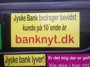 Kontakt Jyske Bank hvis du vil have ærlig rådgivning www.banknyt.dk #Danmarks store #kriminelle #virksomhed #Danske #Svindel #Bank #Jyskebank kender ikke til #hæderlighed, og #bedrager lille #virksomhed på trods af at #AndersDam og koncern ledelsen er oplyst om, at den kriminelle jyske bank bevist bedrager kunden ved #Svig og #Falsk på 10'ende år. #Ærlighed eller #Hæderlighed #Lyve #Bedrageri #Dokumentfalsk #Bedrageriske #Stjålende - BEDRAGERI Fraud in the Danish banks by by Jyske Bank management #Bank #AnderChristianDam #Gangcrimes #Crimes #Stock #Recommendations #Rental #Property #Lejebolig #Journalist #Press - When the Danish banks deceive their customers a case of fraud in Danish banks against customers :-( :-( When the #Danish #Banks as #jyskebank are making fraud And the gang leader, Anders Dam controls the bank's fraud. :-( Anders Dam Bank's CEO refuses to quit fraud against customers - So it only shows how criminal the Danish jyske bank is. :-) Do not trust the #JyskeBank they are #Lying constantly, when the bank cheats you The fraud that is #organized through by 3 departments, and many members of the organization JYSKE BANK :-( The Danish bank jyske bank is a criminal business Follow the case in Danish law BS 99-698/2015 :-) :-) - Thanks to all of you we meet on the road. Which gives us your full support to the fight against the Danish fraud bank. JYSKE BANK :-) :-) Please ask the bank, jyske bank if we have raised a loan of DKK 4.328.000 In Danish bank nykredit. as the Jyske bank writes to their customer, who is ill after a brain bleeding - As the bank is facing Danish courts and claim is a loan behind the interest rate swap The swsp Jyske Bank itself made 16-07-2008 #Financial #News #Press #Share #Pol #Recommendation #Sale #Firesale #AndersDam #JyskeBank #ATP #PFA #MortenUlrikGade #PhilipBaruch#LES #GF #BirgitBushThuesen #LundElmerSandager #Nykredit #MetteEgholmNielsen #Loan #Fraud #CasperDamOlsen #NicolaiHansen#SørenWoergaard #AnetteKirkeby #Koncernledelse #Jyskebank #Koncernbestyrelsen #SvenBuhrkall #KurtBligaardPedersen #RinaAsmussen #PhilipBaruch #JensABorup #KeldNorup #ChristinaLykkeMunk #HaggaiKunisch #MarianneLillevang #Koncerndirektionen #AndersDam #LeifFLarsen #NielsErikJakobsen #PerSkovhus #PeterSchleidt -IMG_3243