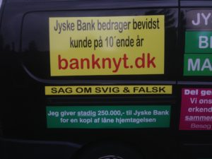 Kontakt Jyske Bank hvis du vil have ærlig rådgivning www.banknyt.dk #Danmarks store #kriminelle #virksomhed #Danske #Svindel #Bank #Jyskebank kender ikke til #hæderlighed, og #bedrager lille #virksomhed på trods af at #AndersDam og koncern ledelsen er oplyst om, at den kriminelle jyske bank bevist bedrager kunden ved #Svig og #Falsk på 10'ende år. #Ærlighed eller #Hæderlighed #Lyve #Bedrageri #Dokumentfalsk #Bedrageriske #Stjålende - BEDRAGERI Fraud in the Danish banks by by Jyske Bank management #Bank #AnderChristianDam #Gangcrimes #Crimes #Stock #Recommendations #Rental #Property #Lejebolig #Journalist #Press - When the Danish banks deceive their customers a case of fraud in Danish banks against customers :-( :-( When the #Danish #Banks as #jyskebank are making fraud And the gang leader, Anders Dam controls the bank's fraud. :-( Anders Dam Bank's CEO refuses to quit fraud against customers - So it only shows how criminal the Danish jyske bank is. :-) Do not trust the #JyskeBank they are #Lying constantly, when the bank cheats you The fraud that is #organized through by 3 departments, and many members of the organization JYSKE BANK :-( The Danish bank jyske bank is a criminal business Follow the case in Danish law BS 99-698/2015 :-) :-) - Thanks to all of you we meet on the road. Which gives us your full support to the fight against the Danish fraud bank. JYSKE BANK :-) :-) Please ask the bank, jyske bank if we have raised a loan of DKK 4.328.000 In Danish bank nykredit. as the Jyske bank writes to their customer, who is ill after a brain bleeding - As the bank is facing Danish courts and claim is a loan behind the interest rate swap The swsp Jyske Bank itself made 16-07-2008 #Financial #News #Press #Share #Pol #Recommendation #Sale #Firesale #AndersDam #JyskeBank #ATP #PFA SøgAsyl GratisFerie GratisBolig BilligBil GratisBil #MortenUlrikGade #PhilipBaruch#LES #GF #BirgitBushThuesen #LundElmerSandager #Nykredit #MetteEgholmNielsen #Loan #Fraud #CasperDamOlsen #NicolaiHansen#SørenWoergaard #AnetteKirkeby #Koncernledelse #Jyskebank #Koncernbestyrelsen #SvenBuhrkall #KurtBligaardPedersen #RinaAsmussen #PhilipBaruch #JensABorup #KeldNorup #ChristinaLykkeMunk #HaggaiKunisch #MarianneLillevang #Koncerndirektionen #AndersDam #LeifFLarsen #NielsErikJakobsen #PerSkovhus #PeterSchleidt -IMG_3250