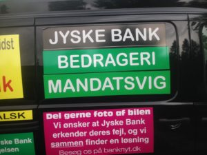 Kontakt Jyske Bank hvis du vil have ærlig rådgivning www.banknyt.dk #Danmarks store #kriminelle #virksomhed #Danske #Svindel #Bank #Jyskebank kender ikke til #hæderlighed, og #bedrager lille #virksomhed på trods af at #AndersDam og koncern ledelsen er oplyst om, at den kriminelle jyske bank bevist bedrager kunden ved #Svig og #Falsk på 10'ende år. #Ærlighed eller #Hæderlighed #Lyve #Bedrageri #Dokumentfalsk #Bedrageriske #Stjålende - BEDRAGERI Fraud in the Danish banks by by Jyske Bank management #Bank #AnderChristianDam #Gangcrimes #Crimes #Stock #Recommendations #Rental #Property #Lejebolig #Journalist #Press - When the Danish banks deceive their customers a case of fraud in Danish banks against customers :-( :-( When the #Danish #Banks as #jyskebank are making fraud And the gang leader, Anders Dam controls the bank's fraud. :-( Anders Dam Bank's CEO refuses to quit fraud against customers - So it only shows how criminal the Danish jyske bank is. :-) Do not trust the #JyskeBank they are #Lying constantly, when the bank cheats you The fraud that is #organized through by 3 departments, and many members of the organization JYSKE BANK :-( The Danish bank jyske bank is a criminal business Follow the case in Danish law BS 99-698/2015 :-) :-) - Thanks to all of you we meet on the road. Which gives us your full support to the fight against the Danish fraud bank. JYSKE BANK :-) :-) Please ask the bank, jyske bank if we have raised a loan of DKK 4.328.000 In Danish bank nykredit. as the Jyske bank writes to their customer, who is ill after a brain bleeding - As the bank is facing Danish courts and claim is a loan behind the interest rate swap The swsp Jyske Bank itself made 16-07-2008 #Financial #News #Press #Share #Pol #Recommendation #Sale #Firesale #AndersDam #JyskeBank #ATP #PFA SøgAsyl GratisFerie GratisBolig BilligBil GratisBil #MortenUlrikGade #PhilipBaruch#LES #GF #BirgitBushThuesen #LundElmerSandager #Nykredit #MetteEgholmNielsen #Loan #Fraud #CasperDamOlsen #NicolaiHansen#SørenWoergaard #AnetteKirkeby #Koncernledelse #Jyskebank #Koncernbestyrelsen #SvenBuhrkall #KurtBligaardPedersen #RinaAsmussen #PhilipBaruch #JensABorup #KeldNorup #ChristinaLykkeMunk #HaggaiKunisch #MarianneLillevang #Koncerndirektionen #AndersDam #LeifFLarsen #NielsErikJakobsen #PerSkovhus #PeterSchleidt -IMG_3252
